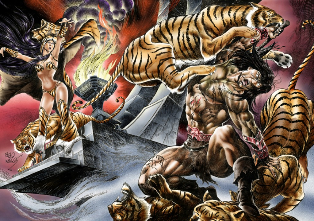 Conan and the Tiger Queen